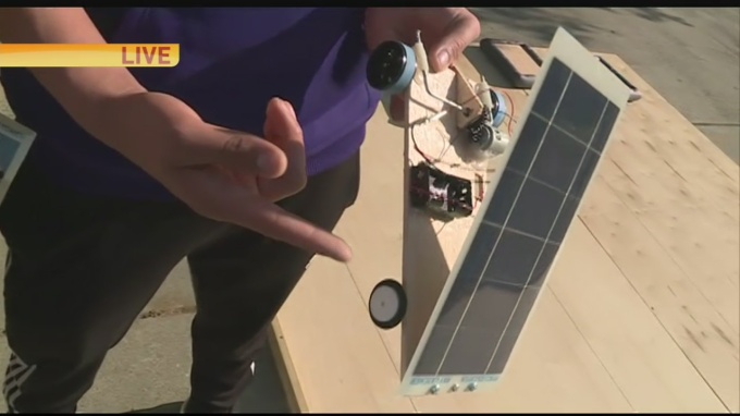 Solar Power Cars 1