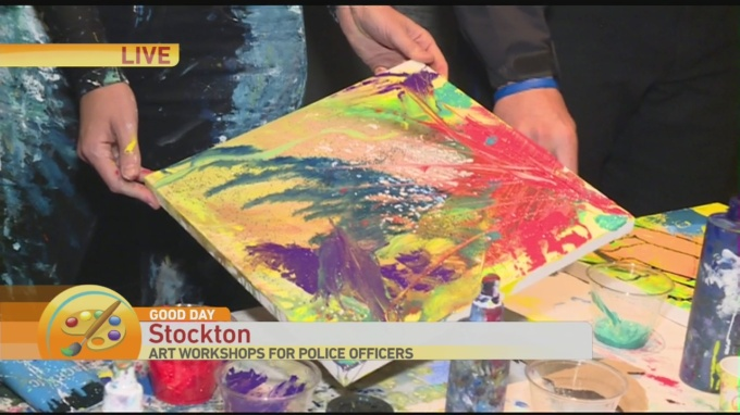 Stockton PD Painting 2