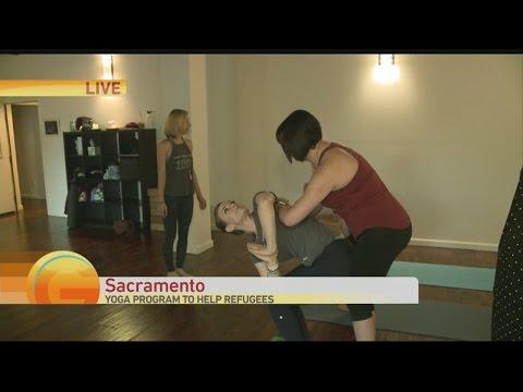 Yoga Fundraiser 1
