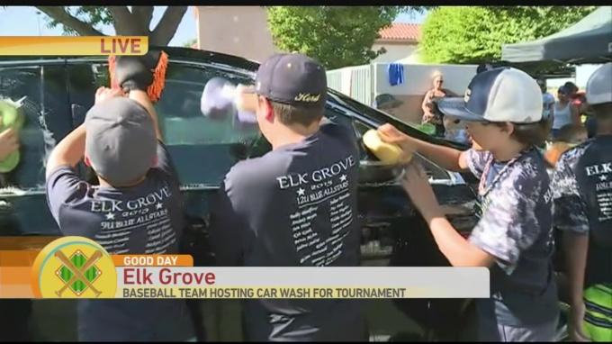 Baseball Car Wash 1