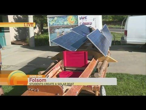 Solar Boat 1