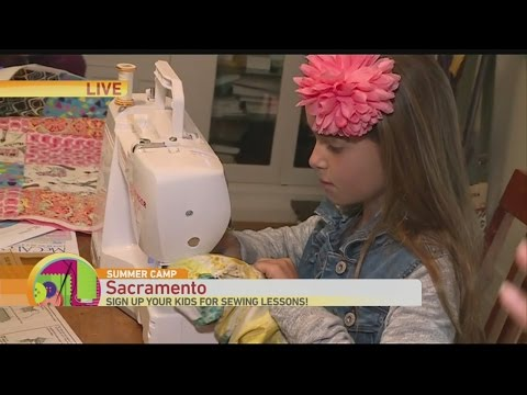 Summer Camp Sewing 1