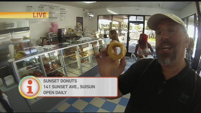 Donut Patrol Sunset 1