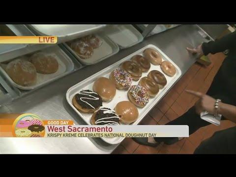 Krispy Kreme Donut Day 1