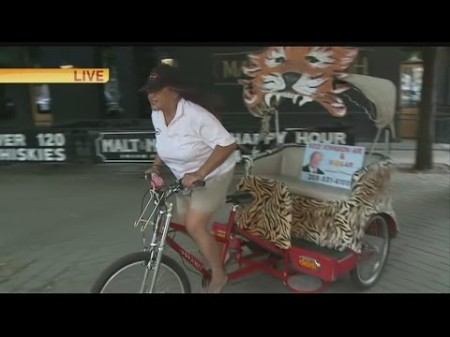Sac Kings Pedicab 1