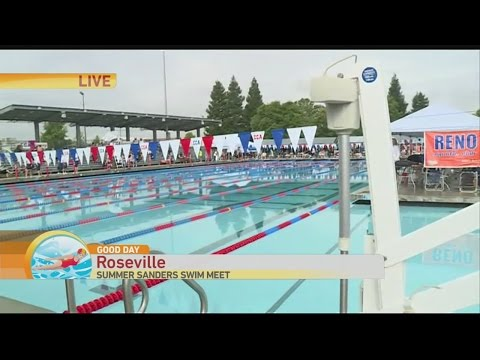 Summer Sanders Swim 1