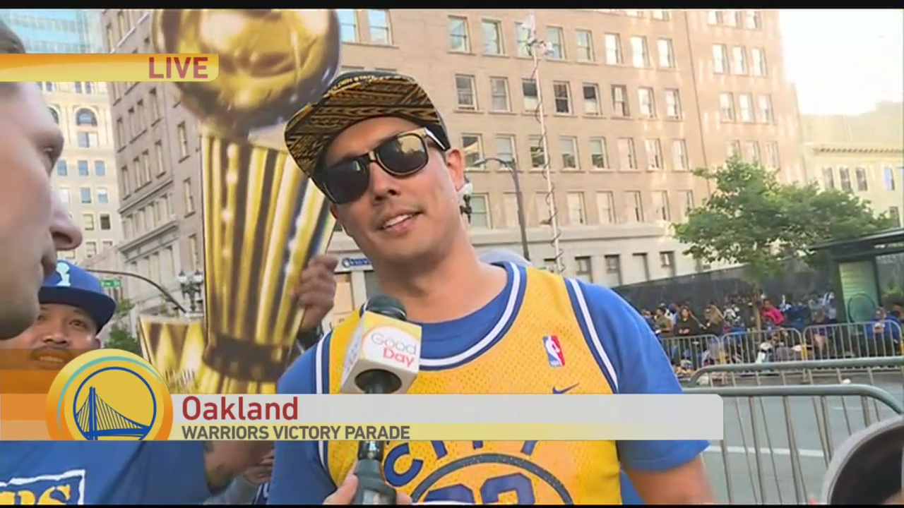 Warriors Parade 3