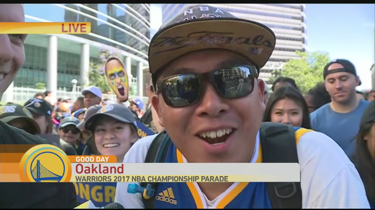 Warriors Parade 5